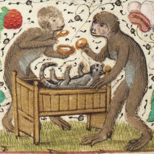 中世の絵画に登場する「猫」10