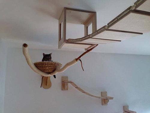 猫用のつり橋06