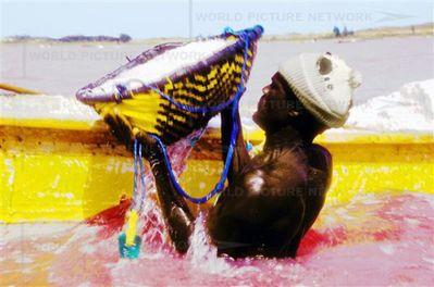 セネガルのレトバ湖05