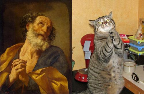 猫で再現するあの名画21