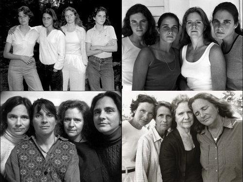 4人姉妹の毎年の写真00