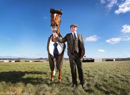 イギリスでは馬も紳士06