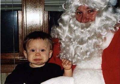 サンタクロースが怖い10
