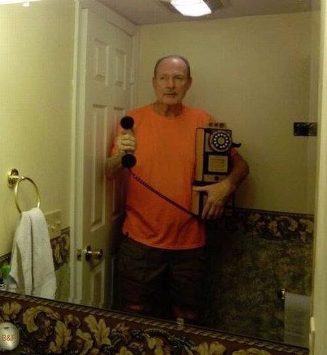 父と自撮り棒02