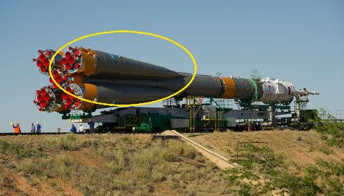 ソユーズ・ロケットの液体燃料ブースター03