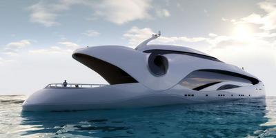 未来的なヨット02