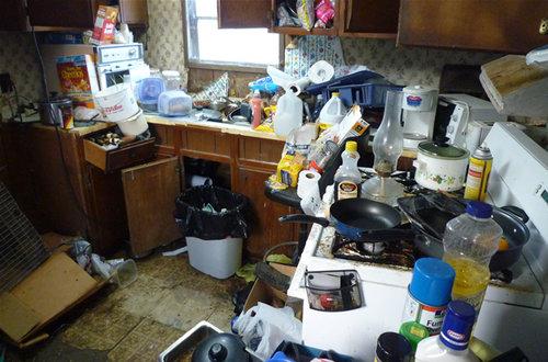 部屋の掃除11
