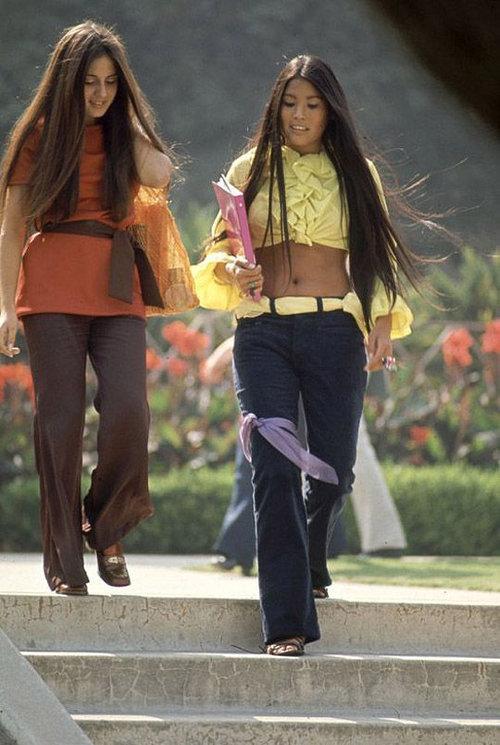 40年前のアメリカの女子高生ファッション09