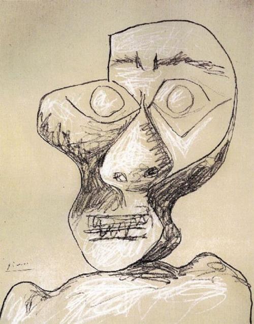 ピカソの自画像13