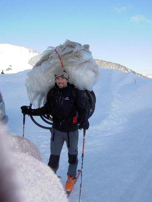 雪山の頂でお風呂02