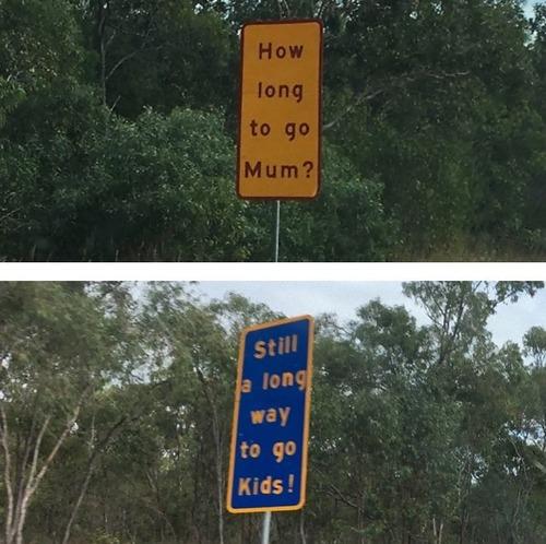 オーストラリアの標識04