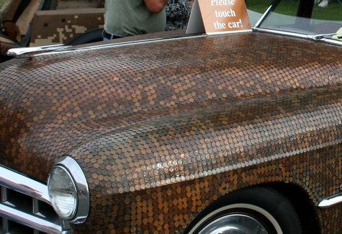 車のボディの装飾02