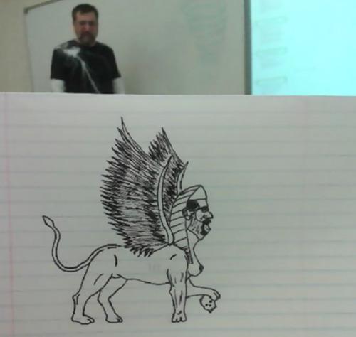 授業中に先生の似顔絵を描き続けた結果02