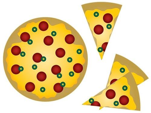 ピザをハート形に注文した結果00
