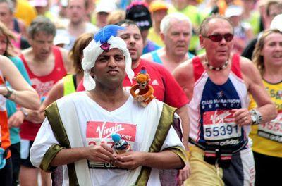 ロンドンマラソン・コスプレ10