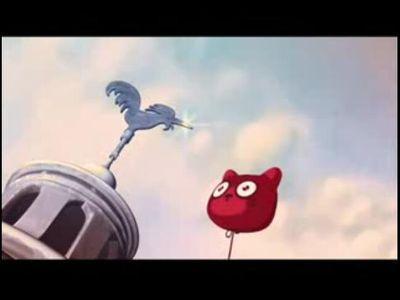 飛んでいった風船がどこへ行くのか