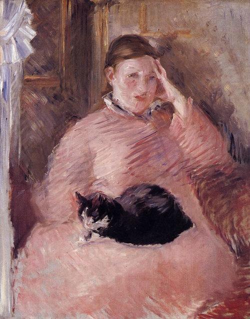 有名画家の描いた猫04