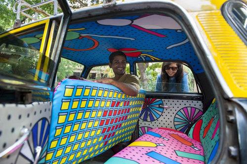 インドのタクシー11