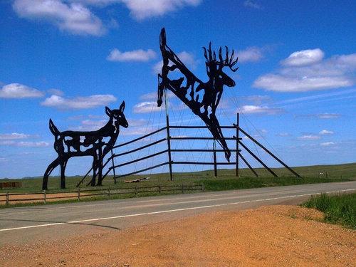 ノースダコタの彫像10