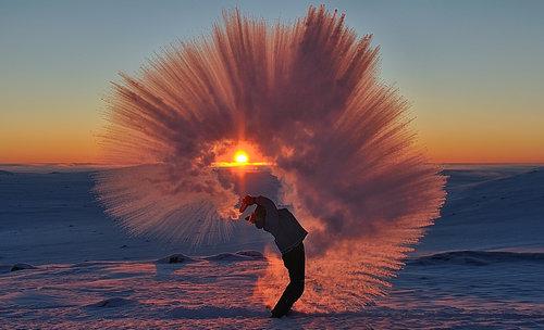 北極で魔法瓶の紅茶を振りまいたら02
