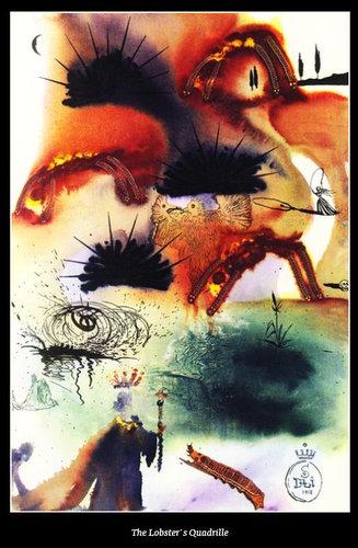 ダリが描いた不思議の国のアリス11