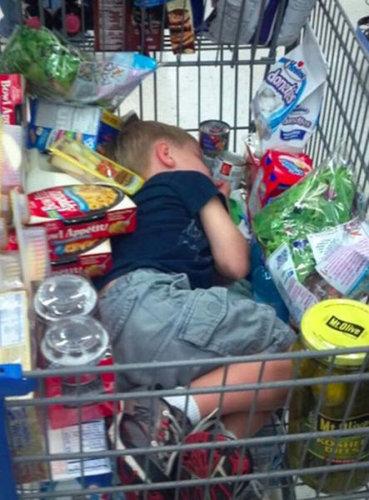 買い物が嫌いな子供たち08
