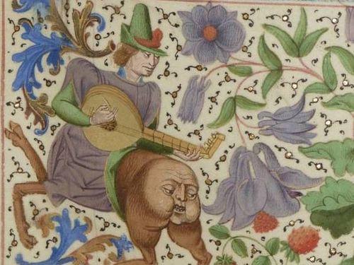 中世の本の挿絵00