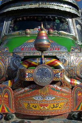 パキスタンのデコトラ08