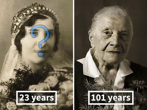 100歳越えの人の若い頃00