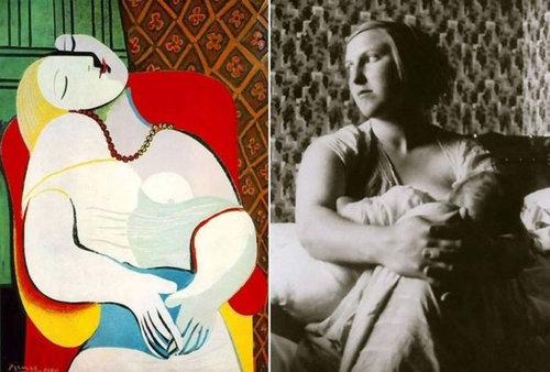 ピカソの肖像画のモデル07