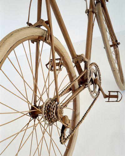 ダンボールアート-04自転車アップ
