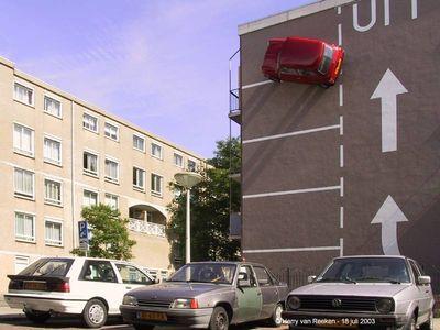 06.Strange Car park(変わった駐車場)