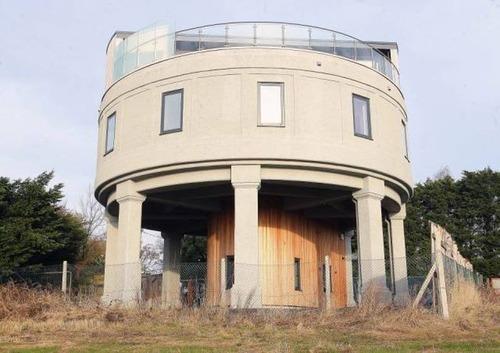 給水塔を自宅にリフォーム05