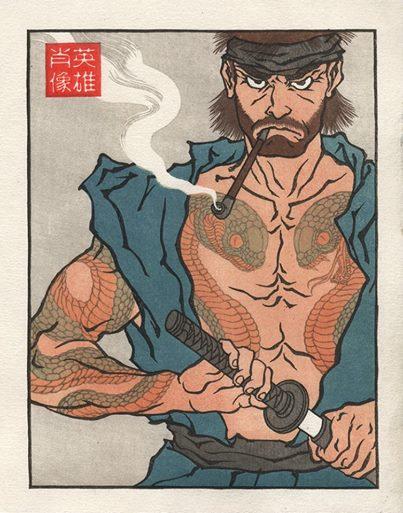 浮世絵ヒーロー15