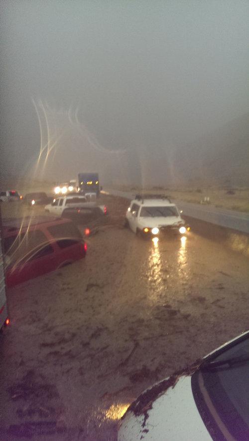 干ばつの続くカリフォルニアにようやく雨が降った15