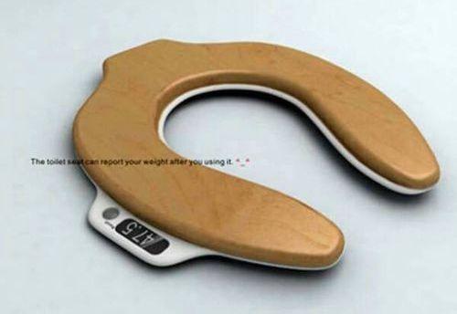 トイレで体重測定01