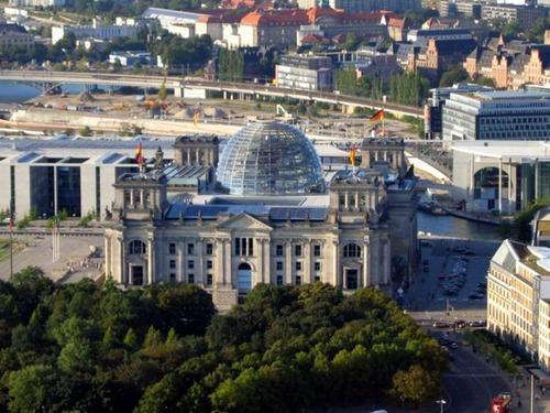 ドイツの国会議事堂00