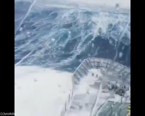 軍艦が撮影した動画05