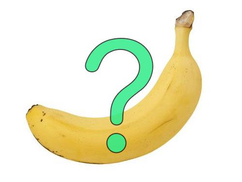 バナナに比べて小さなトラック00
