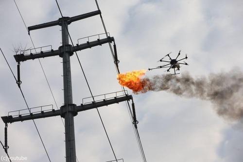 火炎放射付ドローン02