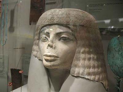 古代エジプトのマイケルジャクソン像?