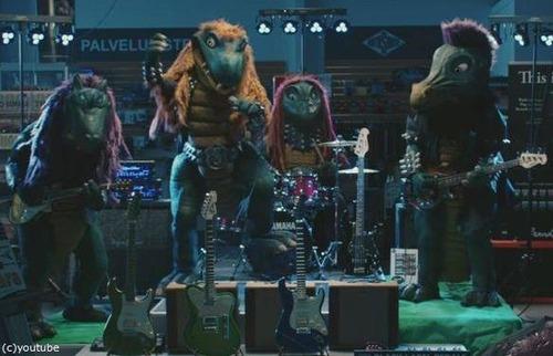 ヘビーメタル恐竜バンド01