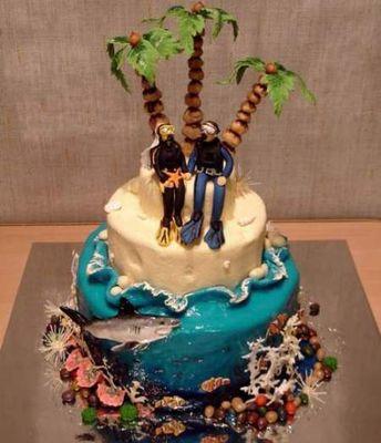 ウェディングケーキ08