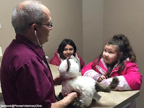 少女が動物病院に猫のぬいぐるみの診察を依頼…獣医の対応に感動00