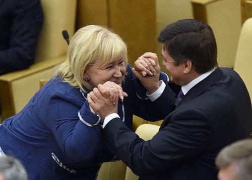 ロシアの議会風景13