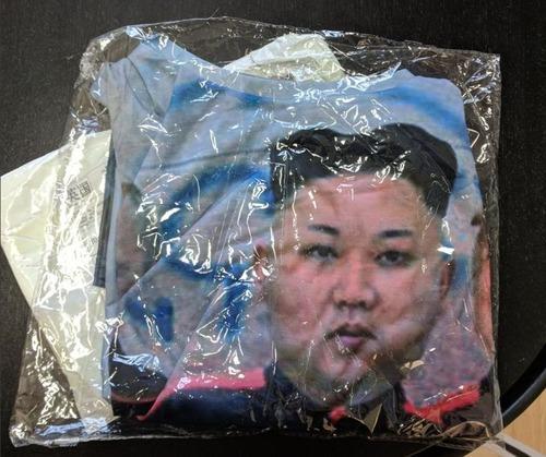 中国からトランプ大統領Tシャツを購入したら01