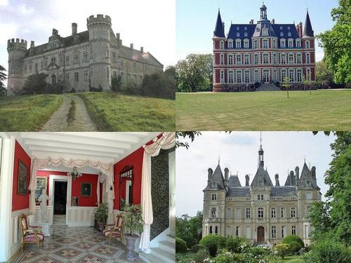 ヨーロッパのお城のような家 00