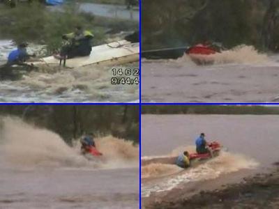 洪水の中ジェットスキーで人命救助に現れたスーパー農夫TOP