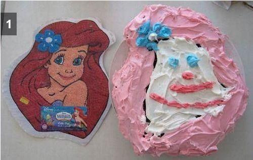 残念なディズニーケーキ02