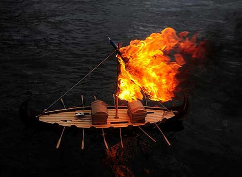 ヴァイキング式のお葬式01